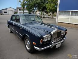 roll royce blue classic 1973 rolls royce silver shadow sedan saloon for sale