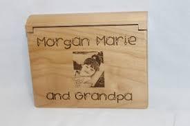 wood photo album wood photo album personalized laser engraved