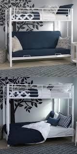 Ebay Bedroom Furniture by Bedroom Furniture 66742 New Metal Twin Over Futon Bunk Bed In