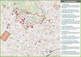 La City Map Upper City Map Of Bergamo