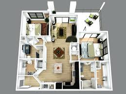 3d colored floor planfloor planner online free plans top view