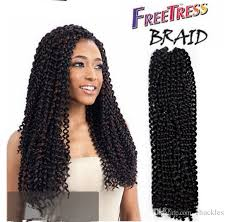 free hair extensions freetress crochet braid water wave synthetic hair extension
