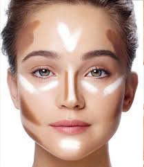 square face fat and hairstyles recommended face contouring for a square face makeup junkie pinterest