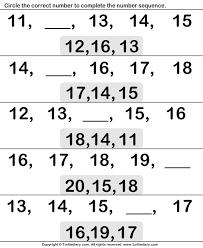 ordinal numbers eleven to twenty worksheet turtle diary