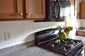 Beadboard Backsplash Kitchen Beadboard Backsplash Waterproof Home Design Ideas