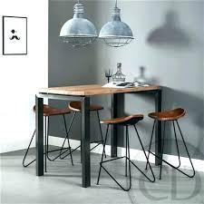 fabriquer une table haute de cuisine table haute plan de travail plan stratifie salle de bain fabriquer