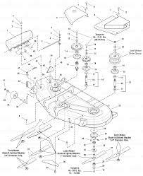 simplicity 1694040 simplicity 54 deck 54 mower deck housing