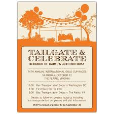tailgate party invitation wording cimvitation