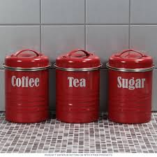 funky kitchen canisters tea coffee sugar canister set vintage style kitchen jars