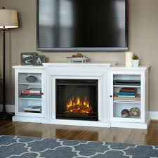 Indoor Electric Fireplace Real Calie Entertainment Electric Fireplace White Electric