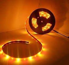 yellow led strip lights red and gold led strip light 12v 5050smd ip68 waterproof 16 4 ft