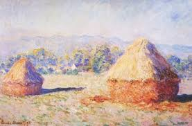 monet haystacks investigate impressionistic painting and the