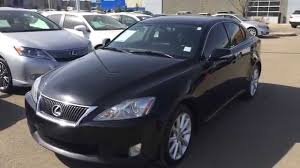 lexus is 2009 pre owned black 2009 lexus is 250 awd leather with moonroof