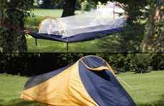 comfy canopy covered camping netted cocoon hammock