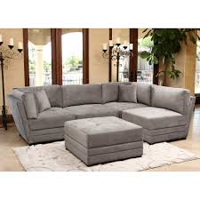 Suede Sectional Sofas Furniture Grey Microfiber Sectional Sofa Macys Sofa Sectional