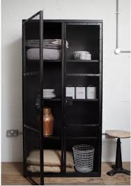 industrial mesh cupboard mad about the house