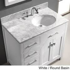 42 Bathroom Vanity by Ace 42 Inch Single Sink White Bathroom Vanity With Mirror Small