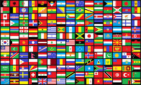 Flag Of The World Pixelated Flags Of The World Vexillology