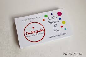 make your own business cards the pin junkie how to make your own