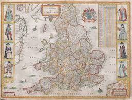 Map Of England And France by Speed U0027s Map Of England Michael Jennings Antique Maps And Prints