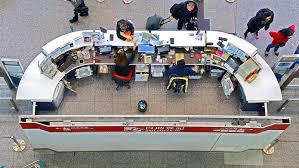 Seeking Hong Kong Help Desk At Airport Express Station Hong Kong Editorial