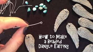make dangle earrings how to make polymer clay earrings beaded dangle in composimold
