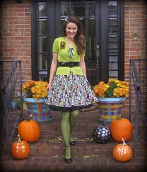 Halloween Monster Mash by Cassie Stephens Diy Matching Monster Mash Dress And Sweater