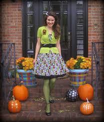 Monster Bride Halloween Costume Cassie Stephens Diy Matching Monster Mash Dress And Sweater