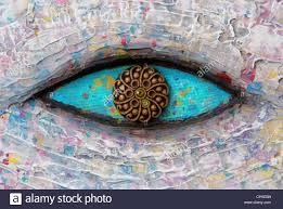 Colorful Painting by Turquoise Eye Texture Of Colorful Painting Stock Photo Royalty