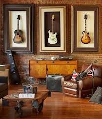 Picture Hanging Design Ideas What A Neat Way To Store Your Guitars While Displaying Them At The