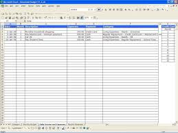Excel Spreadsheet For Personal Budget by Example Of Business Expenses Spreadsheet Laobingkaisuo Com