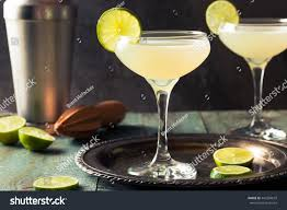 daiquiri cocktail classic lime daiquiri cocktail garnish stock photo 442299679