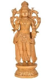 find sculpture carving made of cedar wood indian sculptures