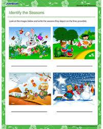 number names worksheets seasons worksheet for kindergarten