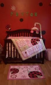 Ladybug Crib Bedding Set Sumersault Lovely Ladybug 10 Nursery In A Bag Crib Bedding
