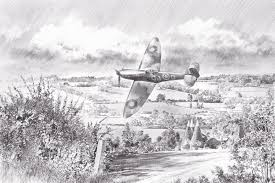 pencil sketches aviation art by geoff nutkins