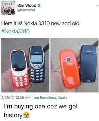 Nokia Brick Meme - 25 best memes about 3310 nokia 3310 nokia memes