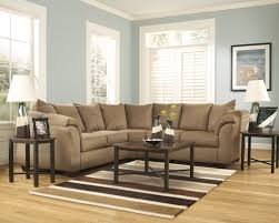 living room furniture gallery scott s furniture company ashley 75002 darcy mocha sectional