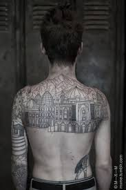 12 structural tattoos for your inner architect mucha gente con