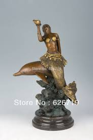 atlie bronzes antiques bronze mythology figurines dolphin statue