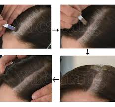 high lighted hair with gray roots dexe cover the grey root color dye waterproof ingredient powder for