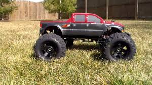 rc nitro monster trucks rc revealed 1 8 basher nitro circus brushless 4wd monster truck