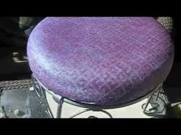 Where To Buy Upholstery Fabric Spray Paint Diy How To Spray Paint A Fabric Glitter Make Waterproof Youtube