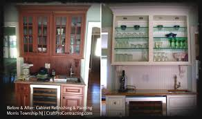 before after kitchen cabinets cabinet painting refinishing u0026 restoration services u2013 craftpro