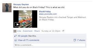 how does target do their black friday see occupy dayton protesters chant at walmart target black friday