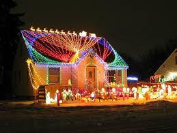 Lighted Outdoor Christmas Displays by Lighted Outdoor Christmas Decorations U2014 All Home Design Ideas