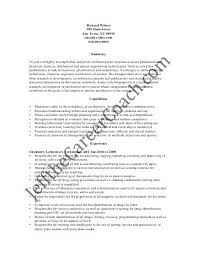 Sample Chemistry Resume by Sample Resume Red Seal Recruiting