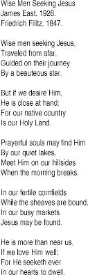 Seeking Song Hymn And Gospel Song Lyrics For Wise Seeking Jesus By East