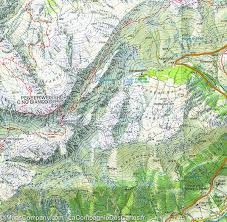 Swiss Alps Map Hiking Map 40 The Sarentines Or Sarntal Alps Tabacco
