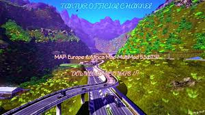 Africa And Europe Map by Map Europe U0026 Africa Map Multimod 5 5 Ets2 Download Youtube